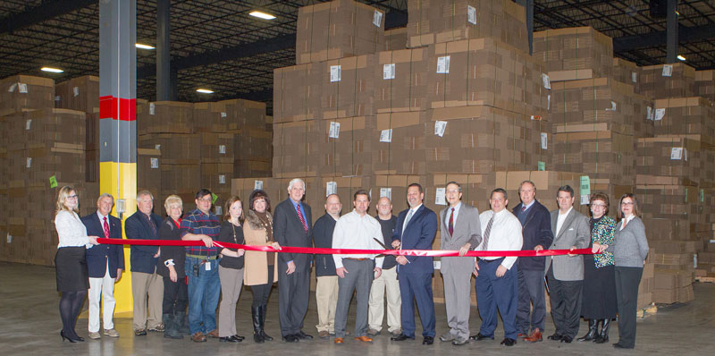 Packaging Wholesalers ribbon cutting 1